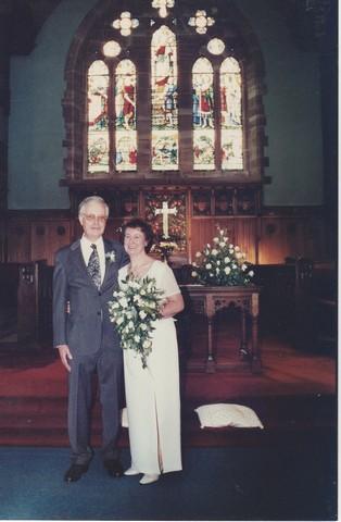 Christine and Godfrey Married