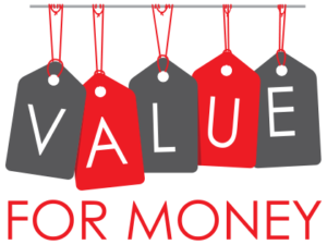 Value for money feedback