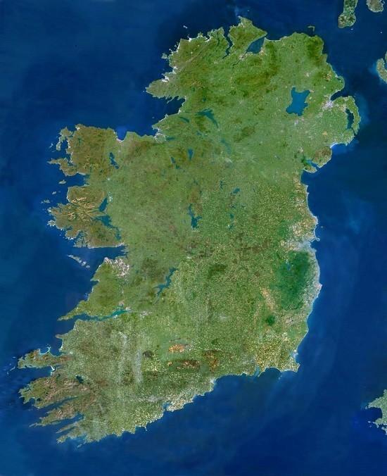 map of ireland - Heavenly Partners Heavenly Map on